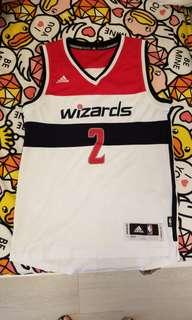 9成9新,Adidas NBA,Wizards巫師,John Wall,XS