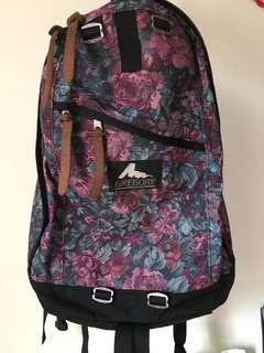 Gregory 紫花 daypack 絕版 舊logo