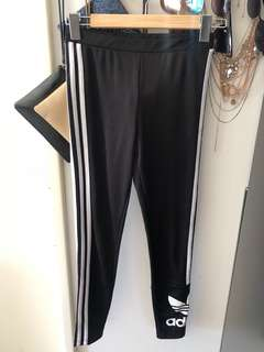 Adidas Unauthentic gym leggings black