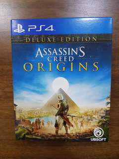 PS4 Assasins's Creed Origins Deluxe Edition