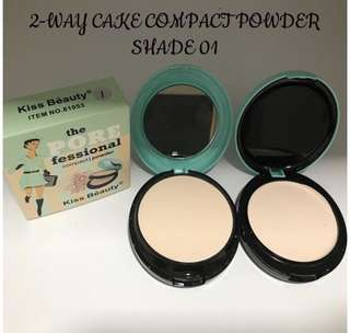 KISS BEAUTY 2 WAY CAKE POWDER