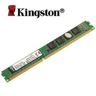 Looking for kingston memory 2gb or 4gb desktop