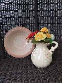 Country Ceramic Pitcher Set