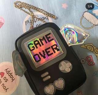 Nila anthony tas game over sling bag