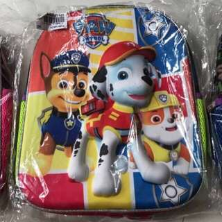 Paw Patrol Backpack for school reopen free stationery set and stickers