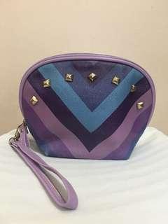 Studded Violet Purse