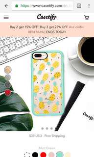 Casetify Iphone 8 Plus cover