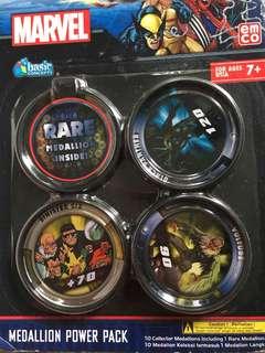 Singers Marvel Medallion Power Pack