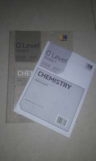 Olevel Yearly TYS (Pure Chemistry 2008-2017)