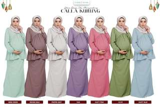 [READYSTOCK] Calla Maternity Kurung + Office Wear