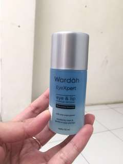 Wardah eye lip remover