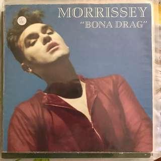 Vinyl Record - Morrissey Bona Drag