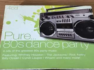 1980s Pure Dance Party >60 songs