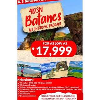BATANES 4D3N ALL IN PROMO PACKAGE
