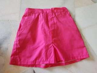 Girl Pink Shorts