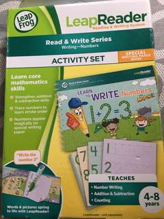 LeapReadee Read & Write Series Activity Set - Numbers