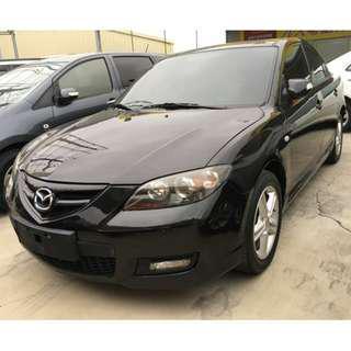 2007年 Mazda 馬自達 馬3 車況讚 無待修 全額貸 輕鬆繳 低月付~