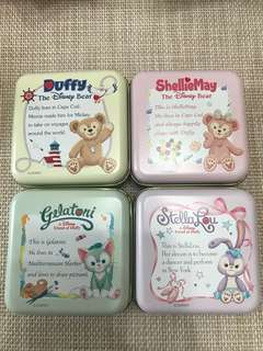 Tokyo Disney Resort [Disney Sea] Duffy & Friends 珍藏小鐵盒 [內含糖菓]
