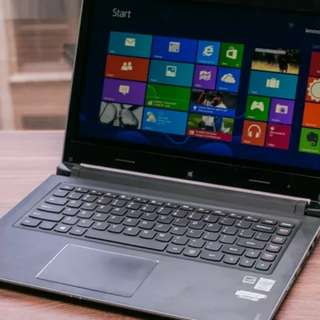 Laptop Lenovo flex 4 14 core i5 bisa di cicil tanpa kartu credit (asus
