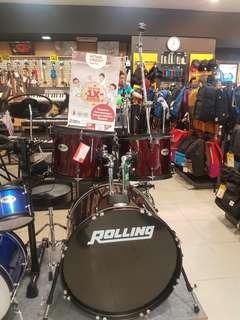 Rolling Drum SET JB-10226WR Bisa Credit Promo Bunga 0% Dp 0%
