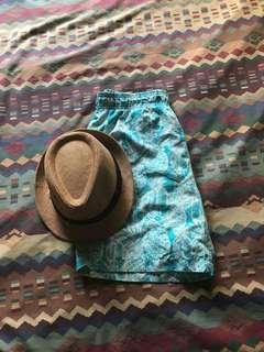 Penshoppe short size medium With free hat