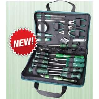 Sata 03780 Electrician Tools Set, 23pcs