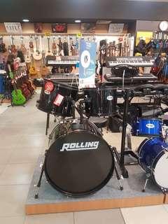 Rolling Drum Set 5-PCS JB-1016-BK Bisa Credit Promo Bunga 0% Dp 0%