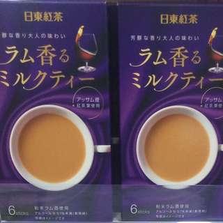 冧酒奶茶 日東紅茶