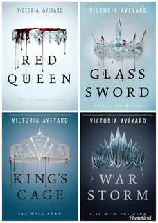Red Queen series (e-book)
