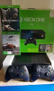 Xbox One 1TB ( Including Two Controller )