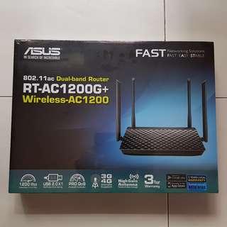 BNIB ASUS RT-AC1200G+ Router