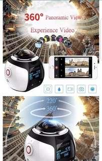 360 degrees Panoramic Video recorder