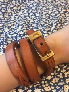 Ysl leather accessory