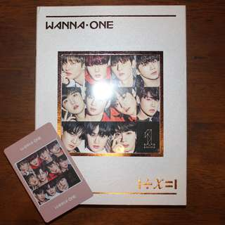 Wanna One - Undivided Wanna One Version (album + group photocard)