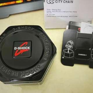 Casio G-shock ga-110gb 黑金