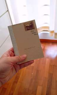 Small Vintage Notebook