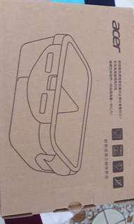 🚚 宏碁股東會紀念品 耐熱玻璃分隔保鮮盒 800ml