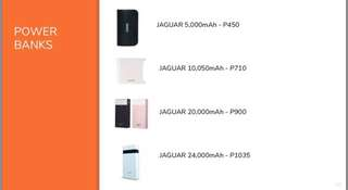 JAGUAR Powerbanks