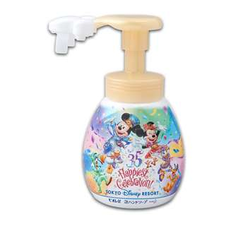 Tokyo Disneysea Disneyland Disney Resorts Sea Land 35th Anniversary Happiest Celebration Mickey Mouse Shaped Hand Soap Preorder