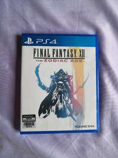 *Mint Condition* PS4 - Final Fantasy XII (The Zodiac Age)