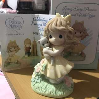 """Precious Moments Collectors' Club 2018 """"Loving Every Precious Moment with You"""" (CC189001)"""