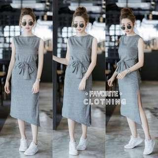 EMILY DRESS 65000 Bahan spandek fit L