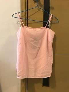 ✨Cotton On粉紅色吊帶背心