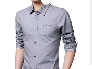 Men's formal long sleeves