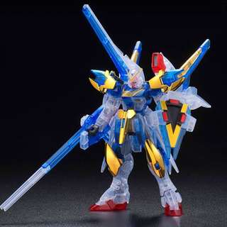 HGUC 1/144 Victory Two Assault Buster Gundam Clear Color Ver. [EXPO]