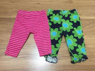 Baby legging for two