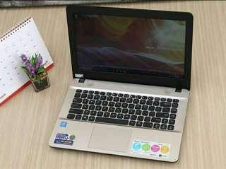 Kredit laptop murah, asus x441na gratis 1x cicilan