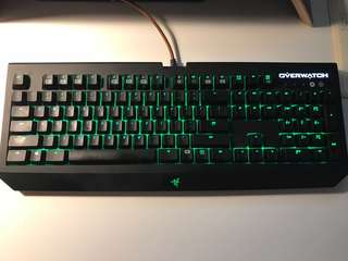 Razer Blackwidow Chroma Keyboard Overwatch Ed.