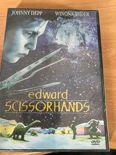Edward Scissorhands movie DVD