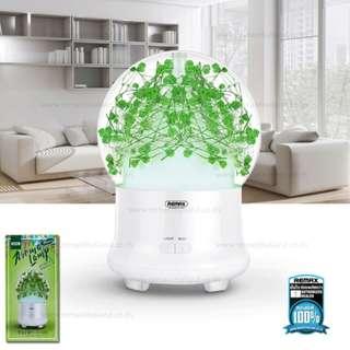 🚚 Remax RT-A700 Gypsophila Hydrangea Aroma LED Lamp Floral Aromatherapy Spray Moisture